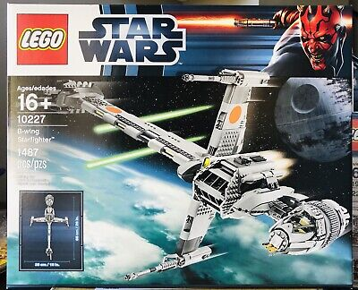 LEGO 10227 Star Wars B-Wing Starfighter Mint Box! Factory SEALED!