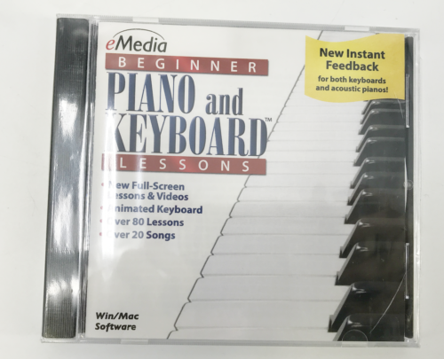 new emedia beginner piano and keyboard lessons