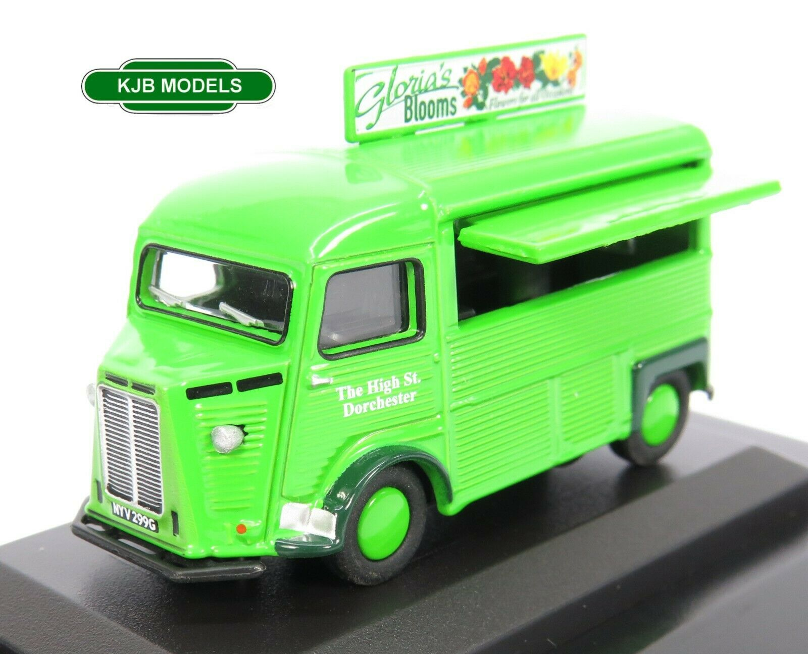 BNIB OO GAUGE OXFORD 1:76 76CIT004 Citroen H Catering Van Glorias Blooms