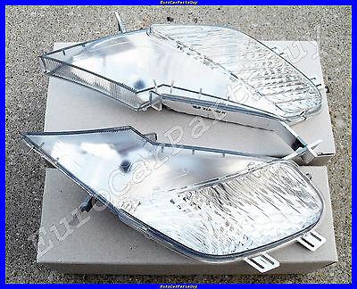OEM Porsche Cayenne 955 Turbo Euro Clear Side Marker Lens Light Set Left & Right