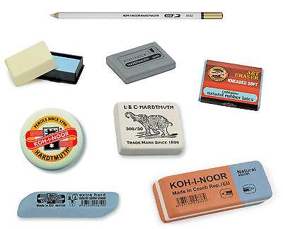 Pencil Eraser Rubber KOH-I-NOOR Kneaded Soft Hard For Artist