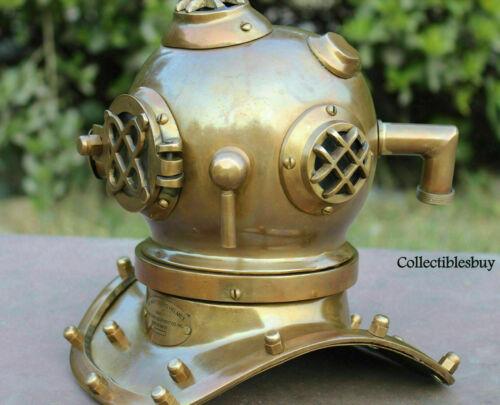 Maritime Mini Deep Sea Diving Helmet Scuba Divers Home Decor Halloween gift