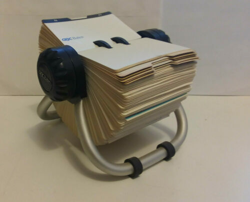 Rolling Business Card file (GBC.BATES, 1990s)