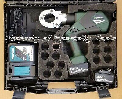 Greenlee Gator Ek622plx Battery Hydraulic Crimper Ek22 D3 Die Crimping Tool