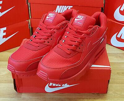 Nike Air Max 90 Essential University Red AJ1285-602 MENS trainers EUR UK SIZES