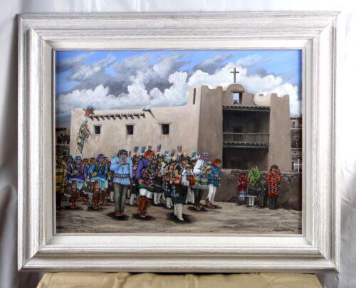 Duane Dishta Zuni Original Painting