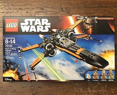 NEW LEGO STAR WARS 75102 POE'S X-WING FIGHTER THE FORCE AWAKENS BB-8 MINIFIGURE