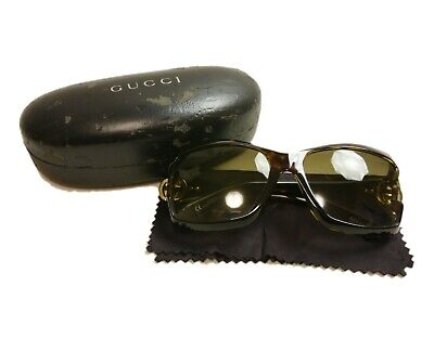 Authentic GUCCI Sunglasses GG Brown Lens #8109-4
