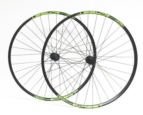 """Stan's ZTR Crest S1-Shimano M6010 29"""" Tubeless Wheelset 15X110 Boost F-12X142 R"""