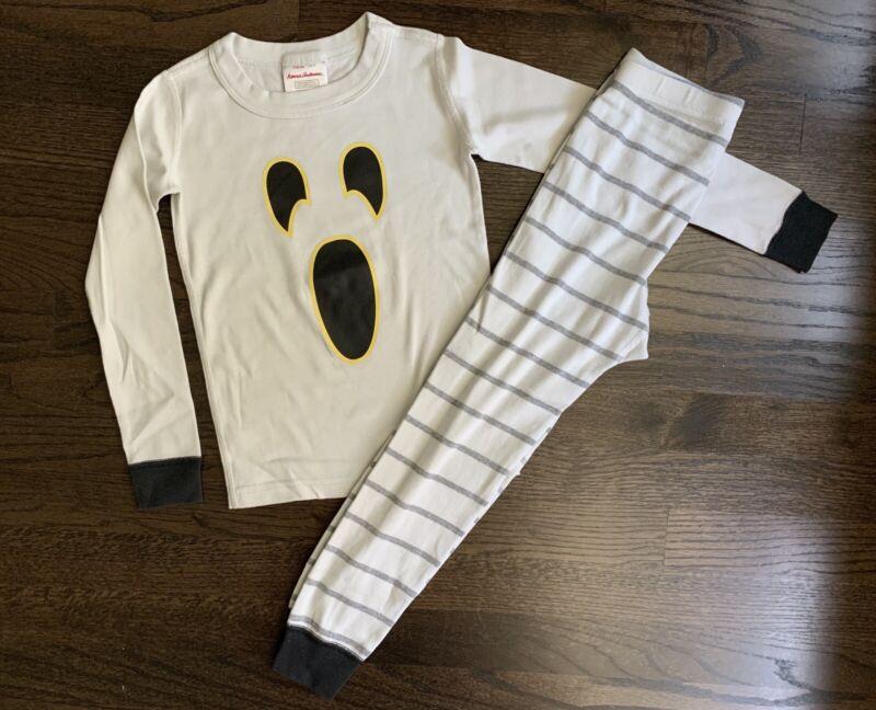 Hanna Andersson Size 110 (size5) Halloween Ghost Longjohn Pajamas