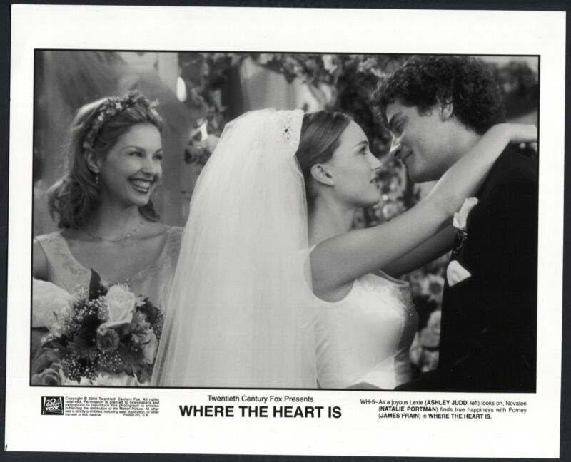 Where The Heart Is '00 ASHLEY JUDD NATALIE PORTMAN JAMES FRAIN BRIDE