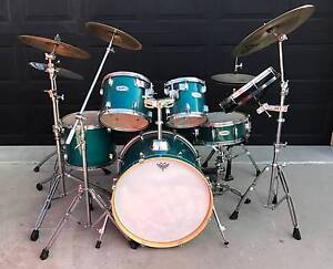 Mapex Mars Birch 6 Piece Drum Kit with Sabian & Pastie Cymbals Clinton Gladstone City Preview