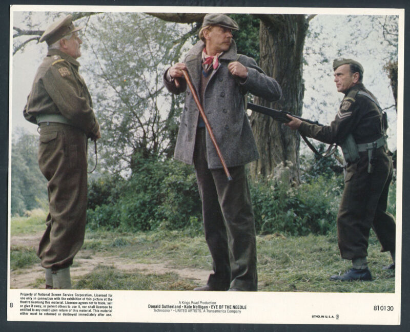 JOHN PAUL STEPHEN PHILLIPS DONALD SUTHERLAND HOME GUARD WWII Eye Of The Needle '