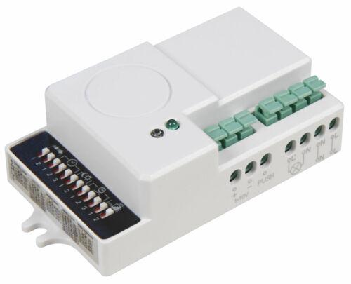 Mikrowellen Bewegungsmelder Radar CW 5,8GHz 360° 1m-15m LED geeignet 600 Watt