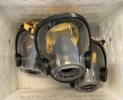 Scott Av3000 With Grey Nosecup Scba Firefighter Mask Kevlarheadnet Size Medium