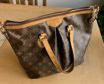 LOUIS VUITTON Palermo PM 2Way Hand Bag Monogram Leather M40145 - w/Serial Number
