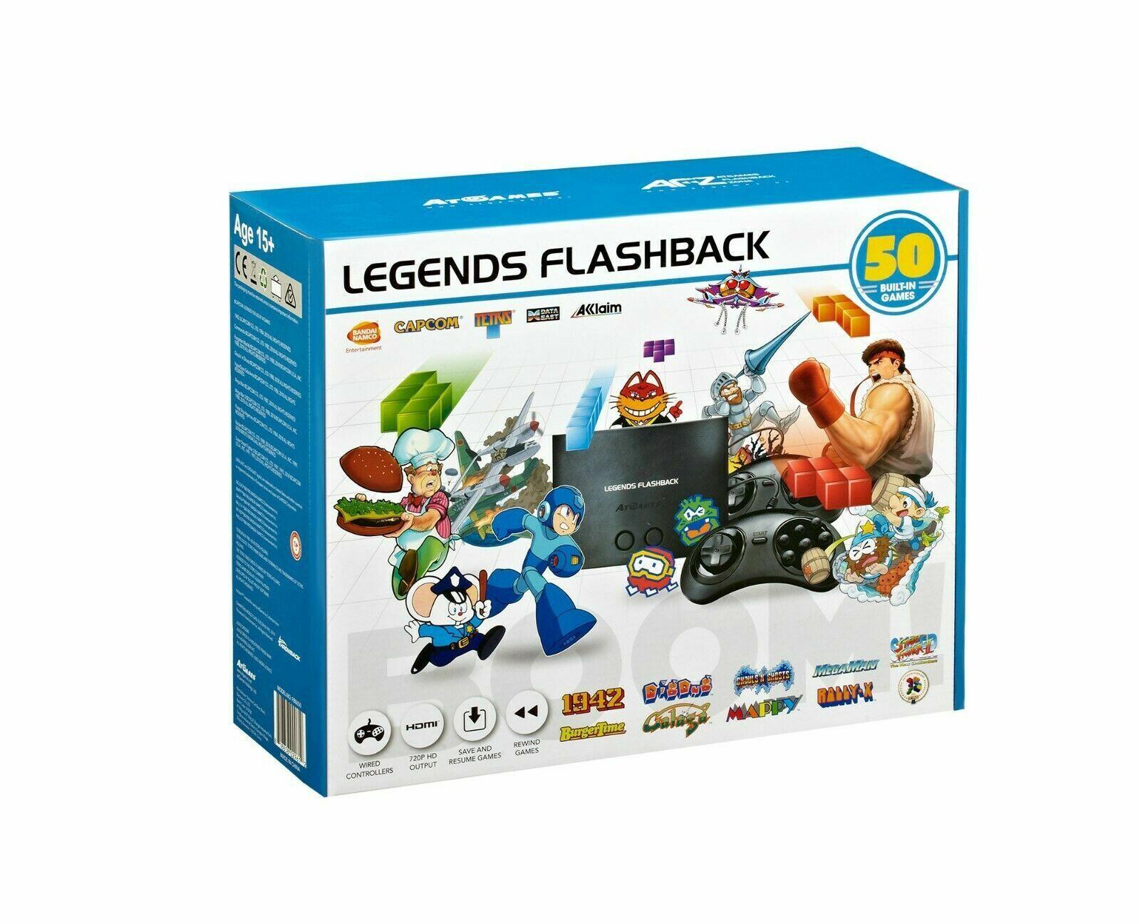 AtGames Legends Flashback Console Emulator NES Sega Genesis