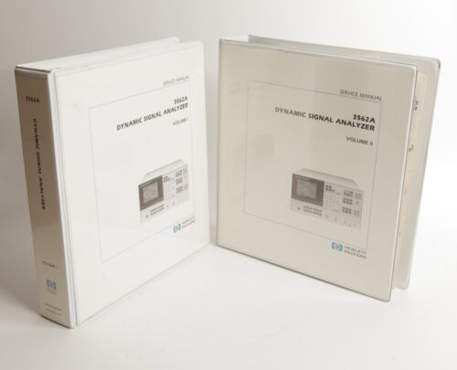 HP 3562A Service Manual Volumes I and II 03562-90010