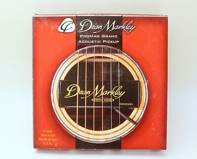 Dean Markley Promag Grand Acoustic Guitar Pickup New!