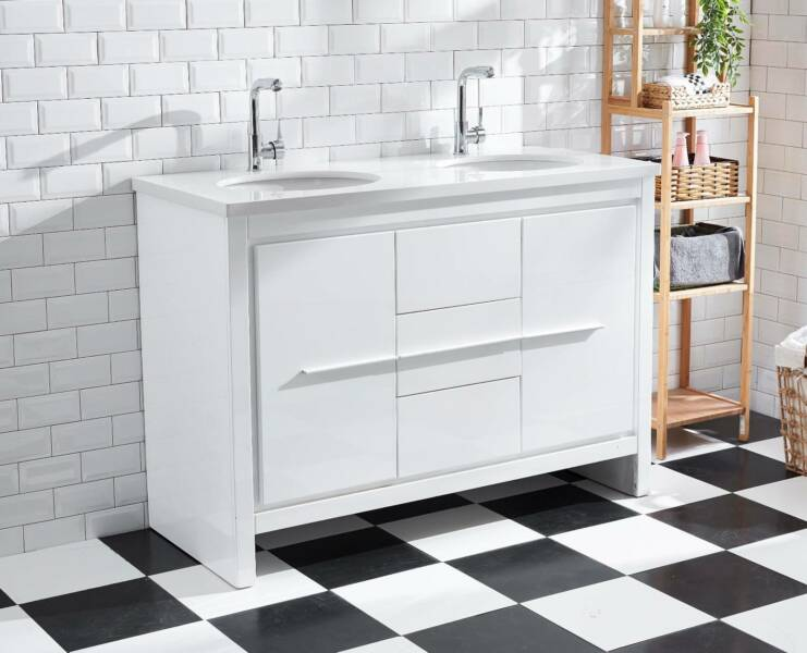 Bathroom Cabinets Gumtree bathroom cabinet basin stone bench top gloss luxury design vanity