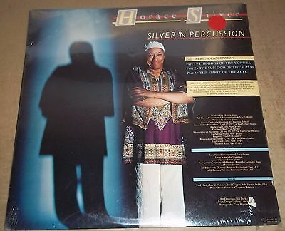 HORACE SILVER Silver 'N Percussion - Blue Note BN-LA853-H SEALED