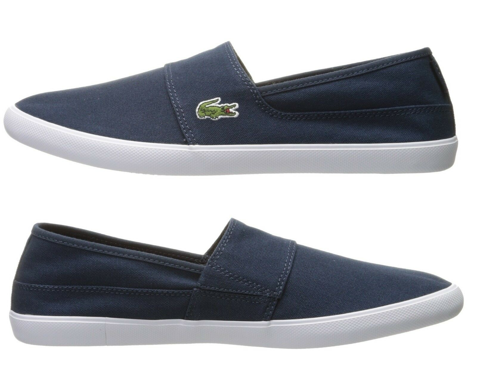 Lacoste Marice BL 2 Men's Croc Logo Casual Slip On Loafer shoes Sneakers Blue 1