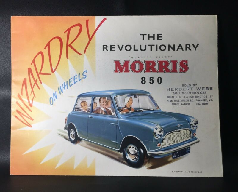 The Revolutionary Morris 850 Original Car Sales Brochure