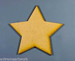 Wooden-Wood-RAW-MDF-Star-Shaped-Wall-Name-Baby-Kids-Room-Plaques-Signs-Cutouts