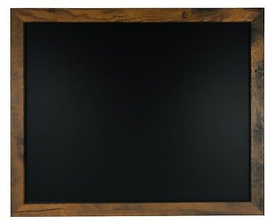 18x22 Rustic Wood Framed Magnetic Chalk Board