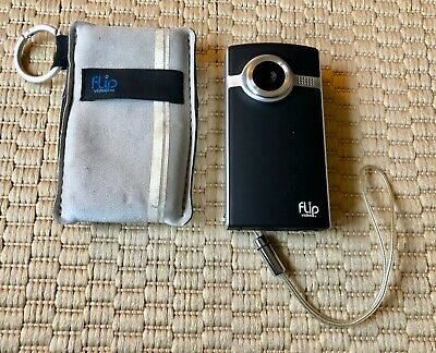 ULTRA SERIES FLIP VIDEO Pure Digital Zoom memory 2GB 60 minutes Camcorder Camera
