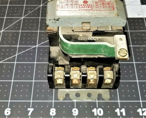GE CR154 Starter Contactor CR154E003AAA12 Tested Working Pull [Z5S5]