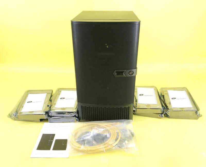 FreeNAS Mini XL 16TB 8 Bay Compact NAS Storage W/ZFS. 8-Core 32GB RAM #NO0680