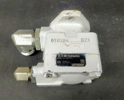 Vickers Eaton 372586-3 V20 Hydraulic Vane Pump