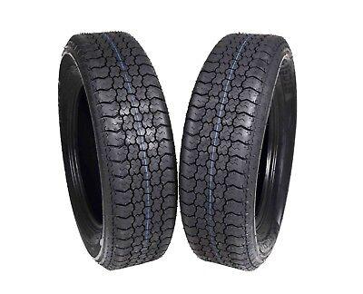 MASSFX ST205/75D15 Bias 6 Ply Trailer Tire 2 Pack Tires 205/75-15 205 75 15