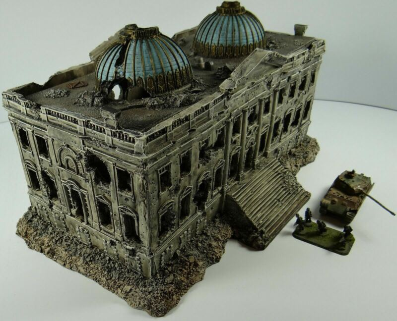 1205 Reichstag Ruin in 15mm Scale