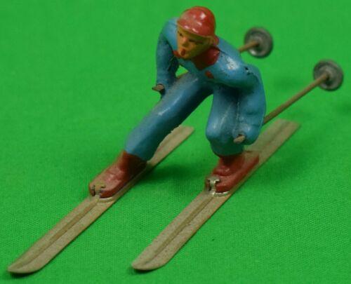 Lead Skier w/ Poles