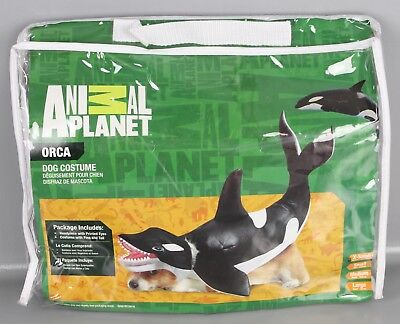 Animal Planet California Costumes Hundekostüm Modell Orka Karneval Hund B17-AP