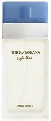 D & G Light Blue Dolce Gabbana Perfume 3.3 / 3.4 oz edt NEW tester WITH CAP