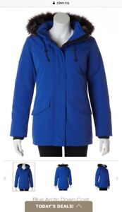 Blue Arctic Down Winter Jacket