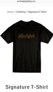 Illadelph t shirt signature