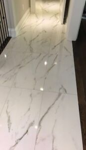 Professional floor and wall tile installation