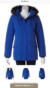 Winter Jacket Arctic Blue Down