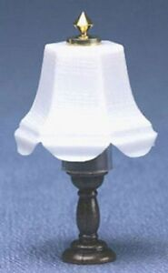 Details about Dollhouse Miniature Lamp with Scalloped Shade