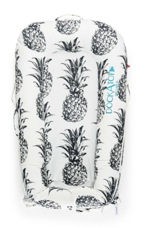 """NIB Stage 1 Dockatot """"Deluxe+"""" SPARE COVER ONLY Pina Colada Pineapple 0-8 Months"""