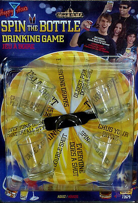 Spin The Bottle Drinking Game Adult Fancy Dress Party Accessory Shots Spinner Adult Spin The Bottle