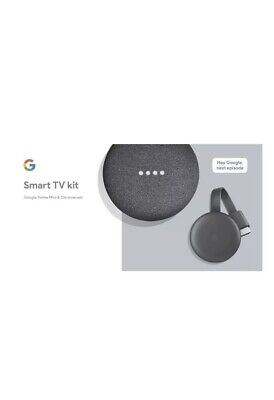 Google Smart TV Kit-Google Home Mini And Chromecast