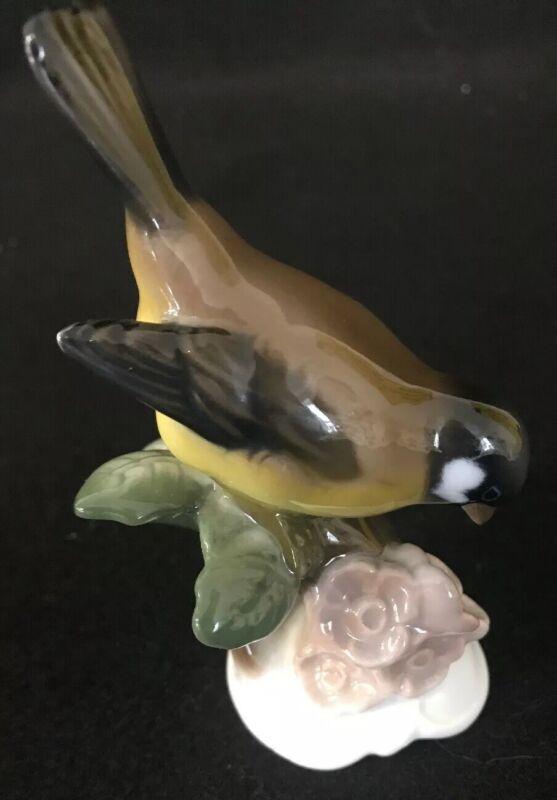 "Rosenthal Porcelain - SPARROW - Bird Figurine, 4"" Tall, Germany H. MEISEL 848"