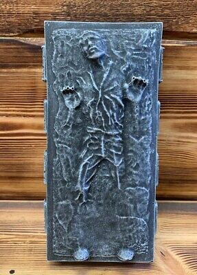 STONE GARDEN STAR WARS HAN SOLO IN CARBONITE DETAILED GIFT ORNAMENT WHITE/BLACK