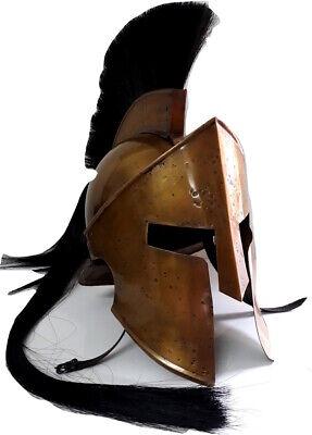 Easy Film Halloween Costumes (Spartan King Leonidas 300 Movie Roman Helmet best and easy halloween costumes  )