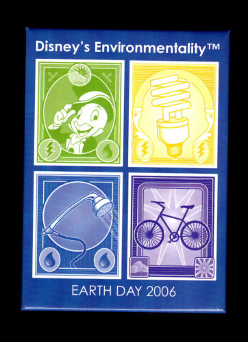 Disney's Environmentality Earth Day 2006 Button